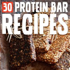 These are my favorite homemade protein bars and  they make the perfect pre/post workout snack and meal replacement!