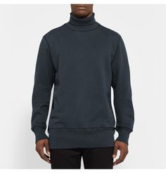 Our Legacy Loopback Cotton-Jersey Rollneck Sweatshirt
