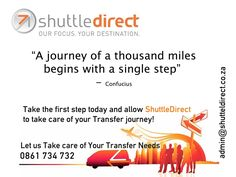 ShuttleDirect should be Your First Step
