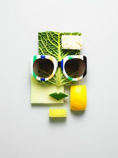 Philip Karlberg, funny eyeglasses food art #eyeglasses #food #recipe