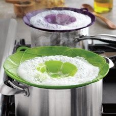 Spill Stopper Lids...I so NEED this!