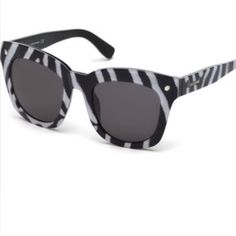 Authentic Dsquared2 sunglasses Show stopping Dsquared2 sunglasses! Chic and Trendy-New with tags Dsquared Accessories Sunglasses