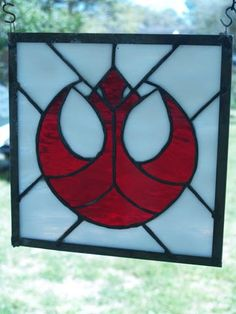 Rebel Alliance Stained Glass