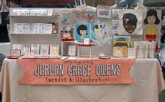 cute display... i really like the pegboard in the back. i have been thinking of making something similar. ;)