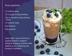 jagodowa kawa #jagody #przepisy #blueberry #kawiarnia #kawa #latte