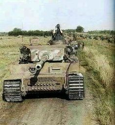 Panzerkampfwagen VI Tiger color pictures
