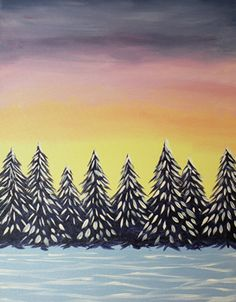 Paint Nite Baltimore | My Thai 01/29/2015