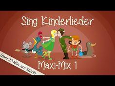 Sing Kinderlieder Maxi-Mix 1 - Kinderlieder zum Mitsingen | Sing Kinderlieder - YouTube
