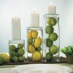 Lemon and Lime Centerpieces