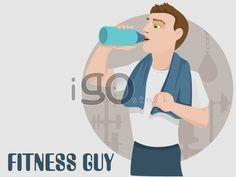 FITNESS-GUY http://igostock.com/item-vector/234-fitness-guy