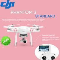 Geek | DJI Phantom 3 Standard 6CH RTF FPV Drone with 2.7K HD Camera for DJI Phantom Quadcopter RC Helicopter  (Color: White)