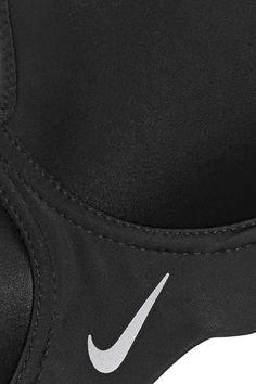 Nike - Pro Rival Mesh-trimmed Dri-fit Stretch Sports Bra - Black - 32DD