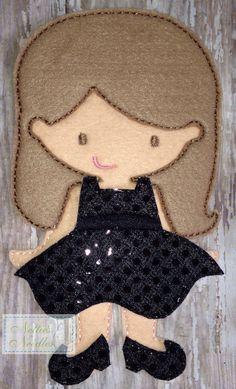 Every Girl Needs An LBD Little Black Dress by NettiesNeedlesToo, $8.00