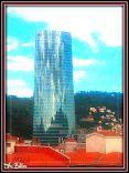Reflejos en torre Iberdrola. Bilbao. Desde Gran vía