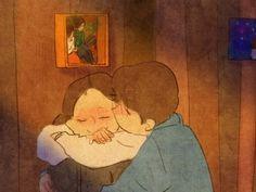 Ternura, dulce palabra que solo puede existir en el hogar del amor.