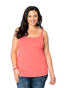 501ab0fc71 Plus Size Clip Down Nursing Cami. Only place I found comfortable nursing  tanks. Breastfeeding