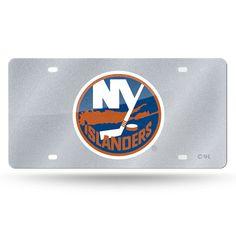 New York Islanders NHL Bling Laser Cut Plate Cover