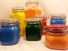 Picture of Powder Coating Glass - Glass Container