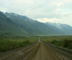 Dalton Highway in Alaska.