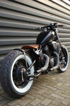 Custom Built Honda Bobber & Chopper Bikes | Old School Motorcycles and Apparel Inspiration