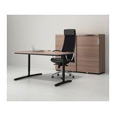 IKEA - BEKANT, Hoekbureau rechts, berkenfineer/wit, , Gratis 10 jaar garantie. Raadpleeg onze folder voor de garantievoorwaarden.Je kan het tafelblad monteren op een hoogte die bij je past omdat de poten in hoogte verstelbaar zijn van 65-85 cm.Een gefineerd oppervlak is slijtvast, vlekbestendig en makkelijk schoon te houden.Met het snoerennet onder het tafelblad kan je je bureau makkelijk netjes en opgeruimd houden.Afgerond bureaublad; ontlast de onderarmen en polsen bij het…