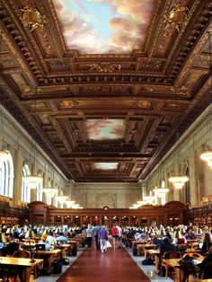 New York Public Library Reading Room | Love & Adventure