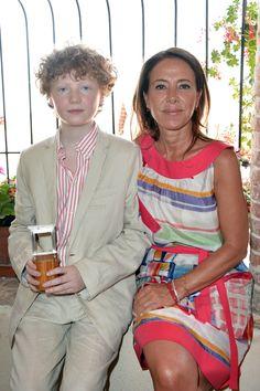 """Thomas Copeland, vincitore del premio speciale Monini """"Una Finestra sui Due Mondi"""" 2012, insieme a Maria Flora Monini"""