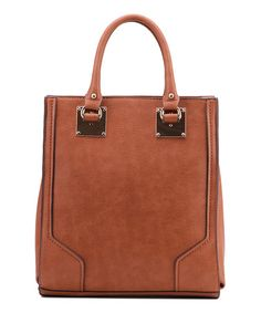 Another great find on #zulily! Brown Linden Shoulder Bag by MKF Collection #zulilyfinds