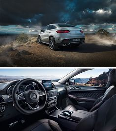 High-grade interior: The Mercedes-AMG GLE 63 S Coupé boasts many exclusive design elements and appointments. [Mercedes-AMG GLE 63 S | Fuel consumption combined: 11.9 l/100km | combined CO₂ emissions: 278 g/km | http://mb4.me/efficiency_statement]