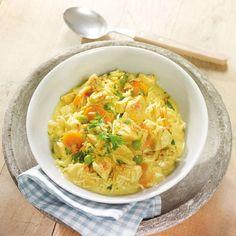 Hähnchen-Curry-Topf mit Reis Rezepte | Weight Watchers