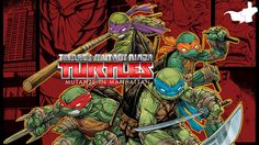 Teenage Mutant Ninja Turtles: Mutants in Manhattan Gameplay