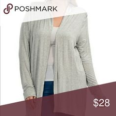 Bellino PLUS Hooded Cardigan Simple and Sleek. Picture compliments of Bellino Clothing Bellino Clothing Sweaters Cardigans