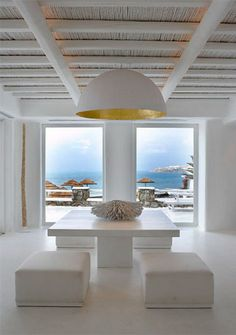 hotel in Mikonos -Greece designed by Angelopoulos and Liakos (owners)
