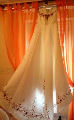 Vend jolie robe de mariee achetée chez