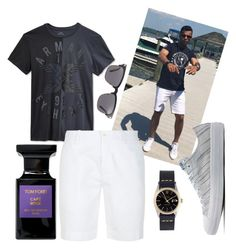 """""""Men's fashion"""" by rishairisha ❤ liked on Polyvore featuring Armani Exchange, Tom Ford, Converse, Polo Ralph Lauren and Rolex"""