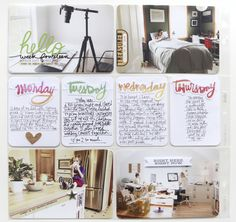 Check out Ali Edwards' scrapbook and Project Life® layouts, minibooks, art journaling, and more! Pocket Scrapbooking, Scrapbook Pages, Digital Scrapbooking, Project Life Layouts, Ali Edwards, Life Page, Family Album, Studio Calico, Life Inspiration