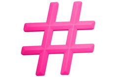 Hashtag Teether from