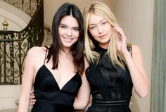 Kendall Jenner und Gigi Hadid punkten mit ihrem No-Make-up-Look