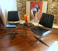 Furniture for the home - 1967 VINTAGE MCM BLACK is the...