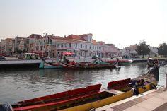 Aveiro canal boats