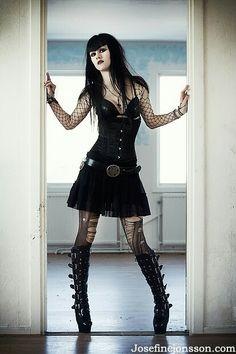 #Goth #Punk girl