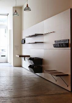 Elegant And Innovative: Opencase Shelving System By Henrybuiltu2026