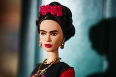 Check out the Barbie Inspiring Women Series Frida Kahlo Doll at the official Barbie website. Explore the world of Barbie Signature today! Mattel Barbie, Barbie Dolls, Doll Toys, Marie Claire, Barbie Website, Feminist Icons, Poppy Parker, Doll Stands, Barbie Collector