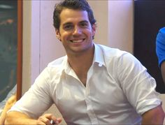 Henry Cavill at San Diego Comic Con 2012