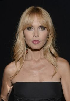Rachel Zoe - 10th Annual Style Awards - Press Room - Mercedes-Benz Fashion Week 2014  Note the way her bangs are cut......middle or either side part....perfect U shape