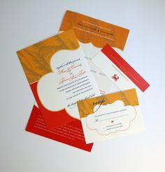 Stationery Week: Pieces Of A Wedding Invitation