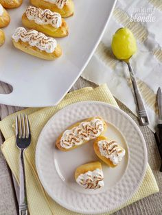 Baking with Blondie : Lemon Meringue Eclairs