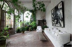 Designer Visit: At Home in a Castle with Belgian Designer Axel Vervoordt