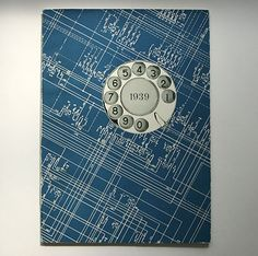 Unser Telephon by L. Bellmont. 'This book about the history of telephony in Switzerland was published at the occasion of the Schweizerische Landesausstellung (Swiss National Exhibition) in 1939.'