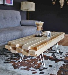 A Really Cool Coffee Table Can Cover Up Whole Mulude Of Family Room Decorating Duds